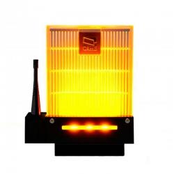 001DD-1KA Сигнальная лампа универсальная 230/24 В,светодиодное освещение янтарного цвета. Новый дизайн