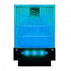 001DD-1KB Сигнальная лампа универсальная 230/24 В,светодиодное освещение синего цвета