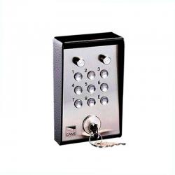 Клавиатура кодовая 9-кнопочная накладная с ключом и подсветкой CAME 001S5000