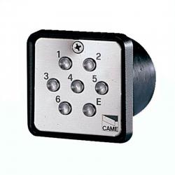 Клавиатура кодовая 7-кнопочная встраиваемая CAME 001S6000