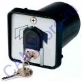 Ключ-выключатель с защитой цилиндра встраиваемый 001SET-K