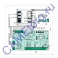 Блок управления одного привода с питанием двигателя 24В CAME 002ZL170N