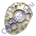 Правая крышка редуктора C-BX 119RICX026