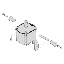 Корпус редуктора C010 119RICX044