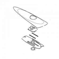 Крышка механизма разблокировки 119RID311