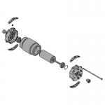 Электродвигатель AX302304 119RID312