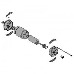 Электродвигатель AX3024 AX5024 119RID315
