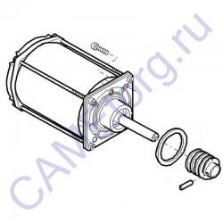 Электродвигатель G12000 в сборе GARD 119RIG101
