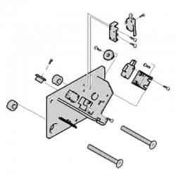 Механические упоры концевых положений G4040 G4041 в сборе 119RIG177