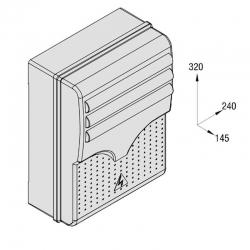 Корпус блока управления S4340 119RIR156