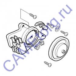 Привод концевых выключателей CAT-X в сборе 119RIX014