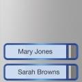 MTMF2P Накладка с 2 кнопками 60020110