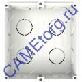 MTMSI1M Монтажная коробка на 1 модуль 60020150
