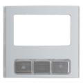 BPT MTMFDY Фронтальная накладка модуля дисплея из алюминия 60020280