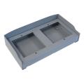 BPT MTMSP1M2 Коробка с козырьком для монтажа двухмодульных вызывных панелей 60020430