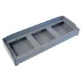 3 Коробка с козырьком для монтажа трехмодульных вызывных панелей 60020440