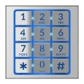 BPT MTMFNA Фронтальная накладка кнопочного модуля 60020910
