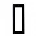 DPF NF Фронтальная накладка для вызывной и кнопочной панели BPT THANGRAM, цвет чёрный 60090070