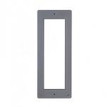 DPF ME Фронтальная накладка для вызывной и кнопочной панели BPT THANGRAM, цвет металл 60090530