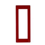 DPF RS Фронтальная накладка для вызывной и кнопочной панели THANGRAM, цвет тёмно-красный 60090560
