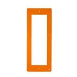 DPF AR Фронтальная накладка для вызывной и кнопочной панели BPT THANGRAM, цвет оранжевый 60090610
