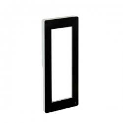 DPF NL Фронтальная накладка для вызывной и кнопочной панели THANGRAM, цвет чёрный матовый 60090620