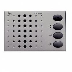 NC/321 SV Абонентское аудиоустройство BPT NOVA, цвет серебристый 60532300