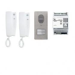 LCKITYCA04B Комплект 2х аудиодомофонов BPT LYNEA с вызывной панелью LITHOS 61700060