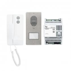 AGATAKITC04 Комплект аудиодомофона BPT AGATA c вызывной аудиопанелью LITHOS 61700320