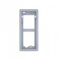 DCI ME Суппорт для встроенной установки вызывной панели BPT THANGRAM, цвет металл 61800020