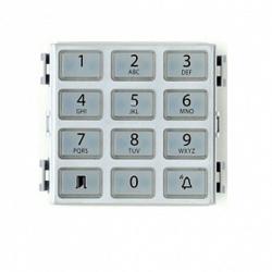 DNA ME Клавиатура BPT для контроля доступа, цвет металл 61800360