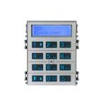 DCOMBO Сенсорная кодонаборная клавиатура BPT для панелей THANGRAM с информационным дисплеем и считывателем, цвет металл 61800760