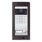 HEVC/301 VR 1-кнопочная вызывная панель BPT TARGHA вандалозащитная 62021800