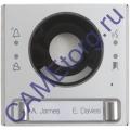 MTMFV2P Накладка видеомодуля 2 кнопки 62030050