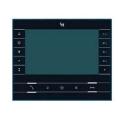 """FUTURA X1 BK Абонентское устройство BPT hands-free с цветным 7"""" дисплеем цвет чёрный лак 62100530"""