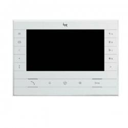 """FUTURA X2 WH Абонентское устройство BPT hands-free с цветным 7"""" дисплеем цвет белый лёд 62100540"""