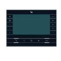 """FUTURA X2 BK Абонентское устройство BPT hands-free с цветным 7"""" дисплеем цвет чёрный лак 62100550"""