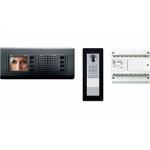BVKITNVM31 Комплект видеодомофона BPT NOVA черный с вызывной панелью THANGRAM 62620180