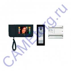 BVKITMTH11 Комплект видеодомофона BPT MITHO черный лак с вызывной панелью THANGRAM 62620210