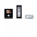 EVKITPEV11 Комплект видеодомофона BPT PERLA чёрный лак с вызывной панелью THANGRAM 62620440