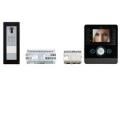 KIT APP PEV BK Комплект видеодомофона BPT PERLA чёрный лак с вызывной панелью THANGRAM для iOS и Android 62620880