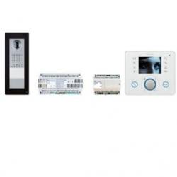 KIT APP OPL WH Комплект видеодомофона BPT OPALE белый лёд с вызывной панелью THANGRAM для iOS и Android 62620890