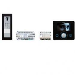 KIT APP OPLW BK Комплект видеодомофона BPT OPALE WIDE чёрный лак с вызывной панелью THANGRAM для iOS и Android 62620930