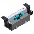 818XC-0030 Система аварийного питания с аккумуляторами 2 х 12 В, 1,3 Ач, в комплекте с креплением