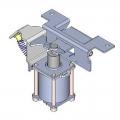 818XC-0032 Бистабильный электромеханический замок для автоматики серии Light