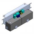 818XC-0033 Система аварийного питания для серии Light с аккумуляторами 2 x 12 В, 1,3 Ач, в комплекте с креплением