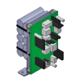 818XC-0038 Система аварийного электропитания для автоматики распашных дверей FLUO-SW с аккумуляторами