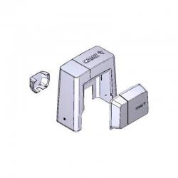 Комплект кожухов BKS пластик темно-серый 88001-0084