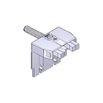 Концевые выключатели в сборе пластик темно-серый 88001-0087
