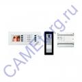 BVKITNVM01 Комплект видеодомофона BPT NOVA белый цвет с вызывной панелью THANGRAM 62620160